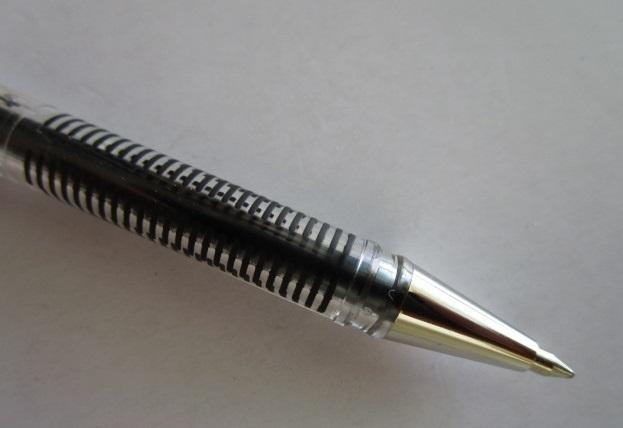 ☆ K105-GA(ハイブリッド)×2本×倍の4本セット ぺんてる ボールペン【未使用/筆記チェック済み】端数ポイント交換_画像4