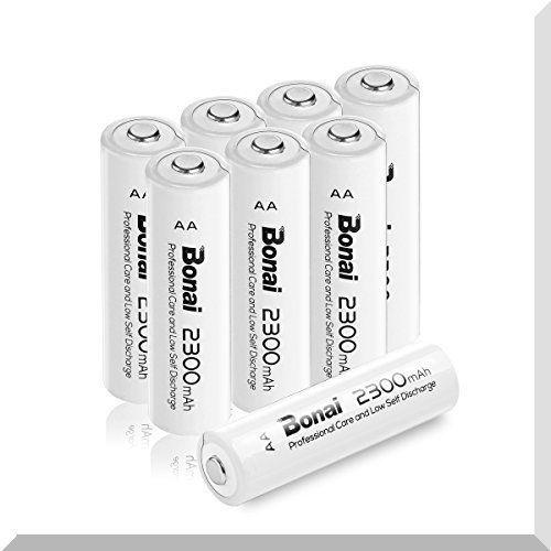 8個パック(高容量2300mAh 約1200回使用可能) BONAI 単3形 充電池 充電式ニッケル水素電池 8個パ_画像1