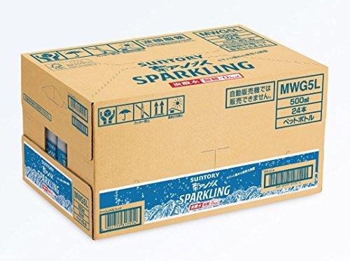 【即日発送】 : 南アルプス 500ml×24本 [炭酸水]サントリー 天然水 南アルプス スパークリング 500ml_画像3