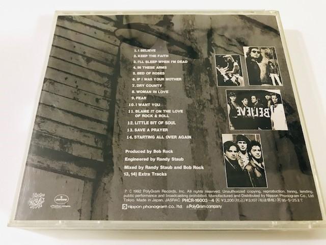 【CD】BON JOVI - Keep The Faith / ボンジョヴィ - キープ・ザ・フェイス 国内盤 PHCR16003~4