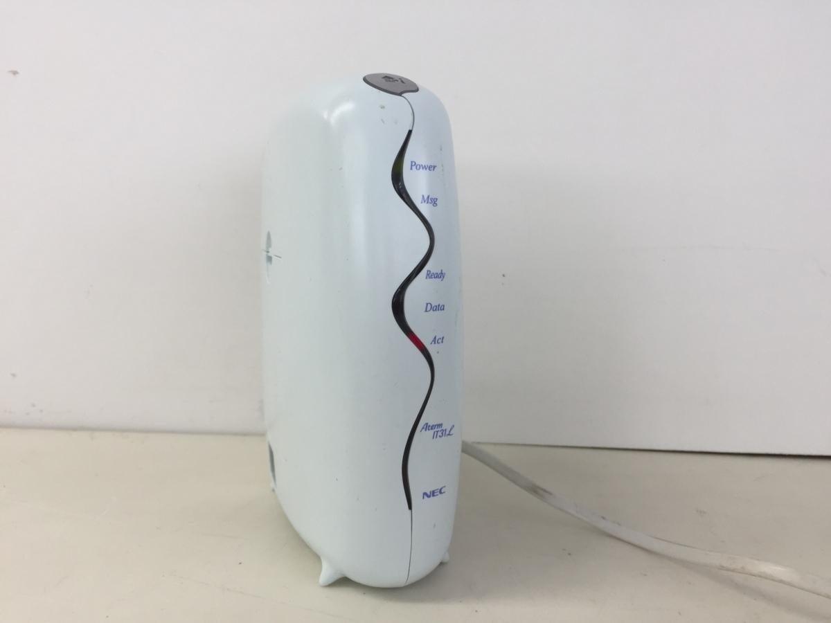 NEC製ISDNターミナルアダプタ★AtermlT31L★LPC-IT31D1(MW) (管2B8-N16)_画像1