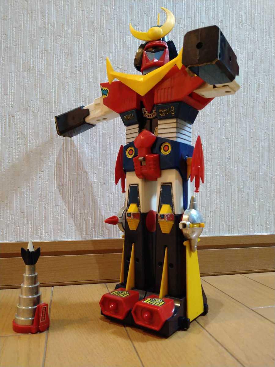 ザンボット3 合体セット コンビネーションプログラムDX クローバー 無敵超人ザンボット3 超合金 当時物 昭和レトロ