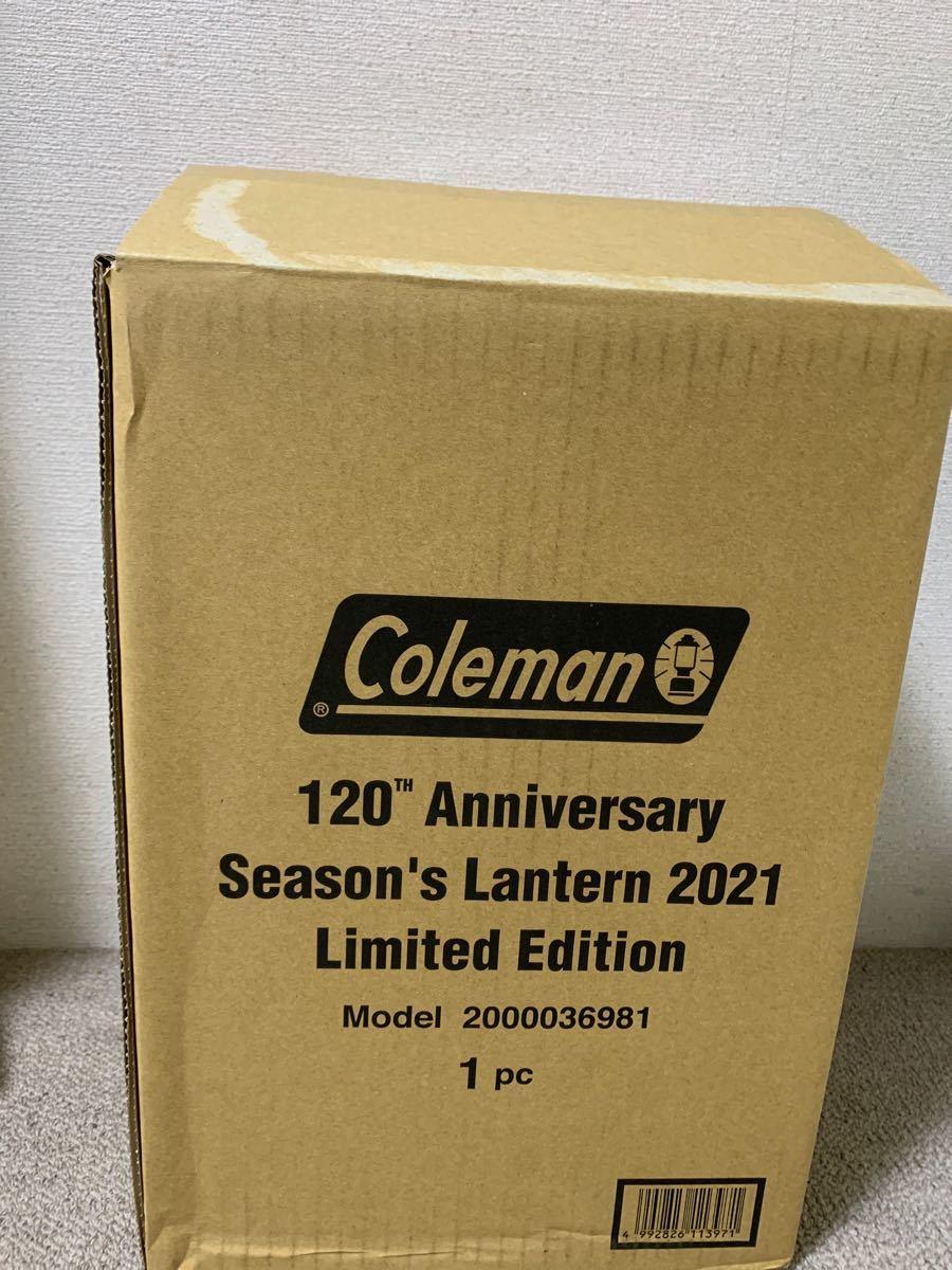 Coleman コールマン 120th アニバーサリー シーズンズランタン 2021