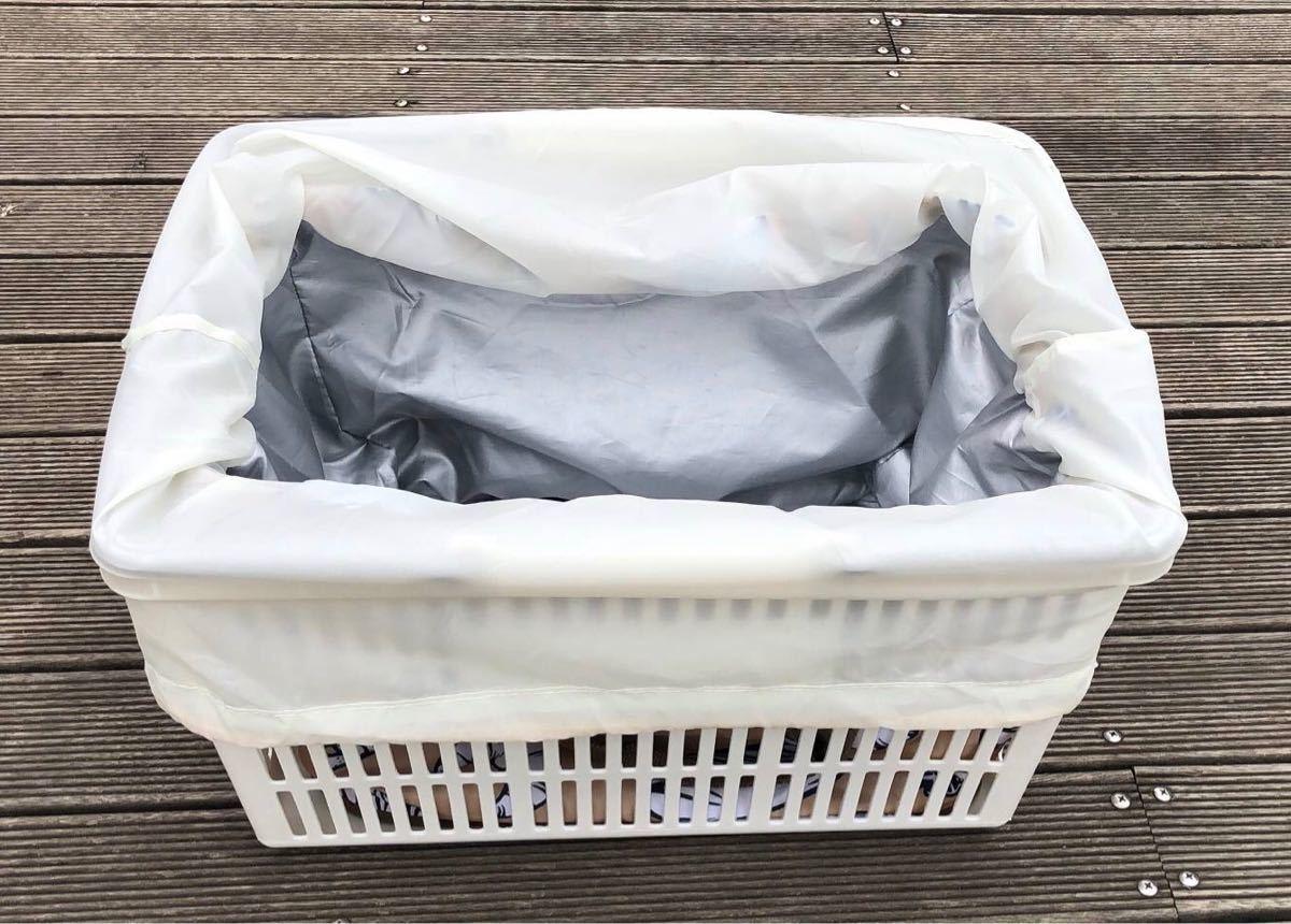 新品 保冷保温レジカゴバッグ 折りたたみエコバッグ 大容量レジかご