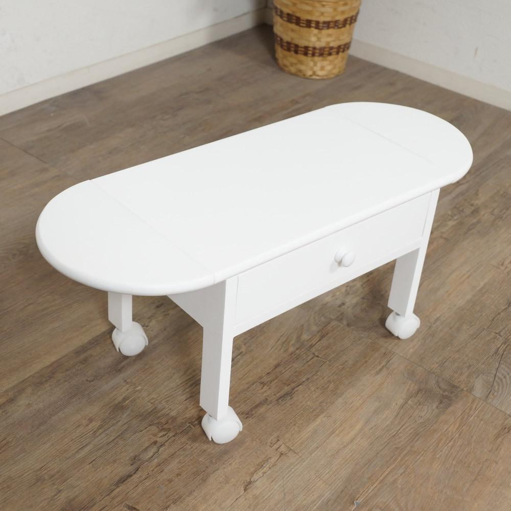 送料無料【新品】コンパクトに収納! 2段 木製 パソコン テーブル アウトレット 家具_画像5