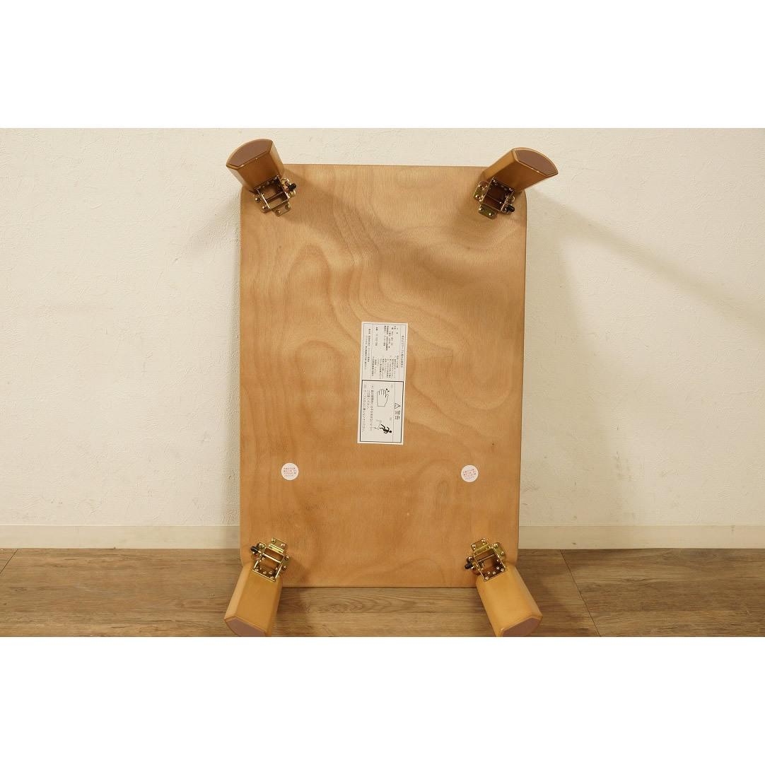 送料無料【新品】折りたたみ テーブル 座卓 ワイド 90cm 幅 FF2610_画像3