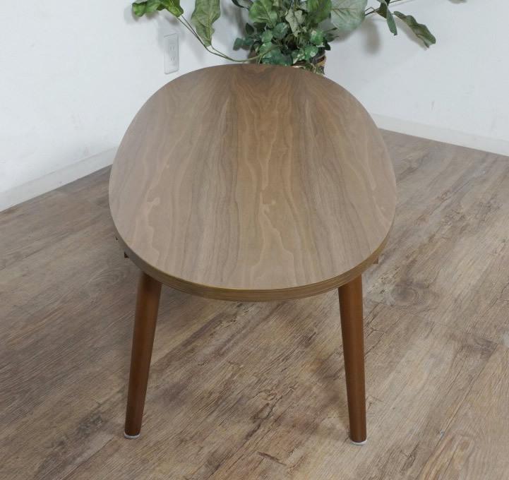 送料無料【新品】おしゃれ 木目が綺麗な 引き出し付き テーブル アウトレット 座卓 センターテーブル FF2567_画像5