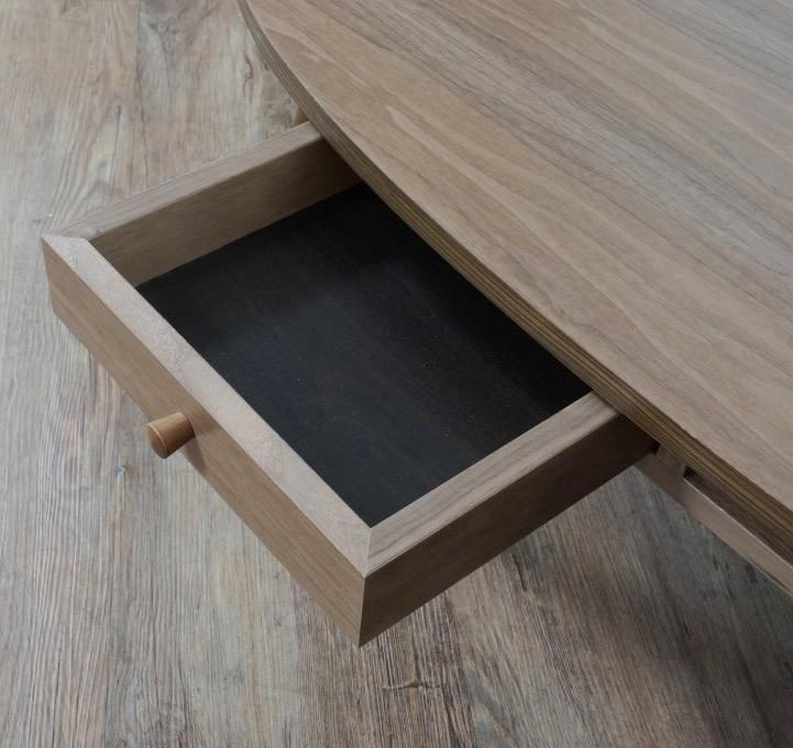 送料無料【新品】おしゃれ 木目が綺麗な 引き出し付き テーブル アウトレット 座卓 センターテーブル FF2567_画像3