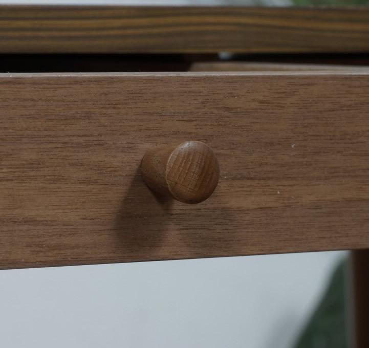 送料無料【新品】おしゃれ 木目が綺麗な 引き出し付き テーブル アウトレット 座卓 センターテーブル FF2567_画像4