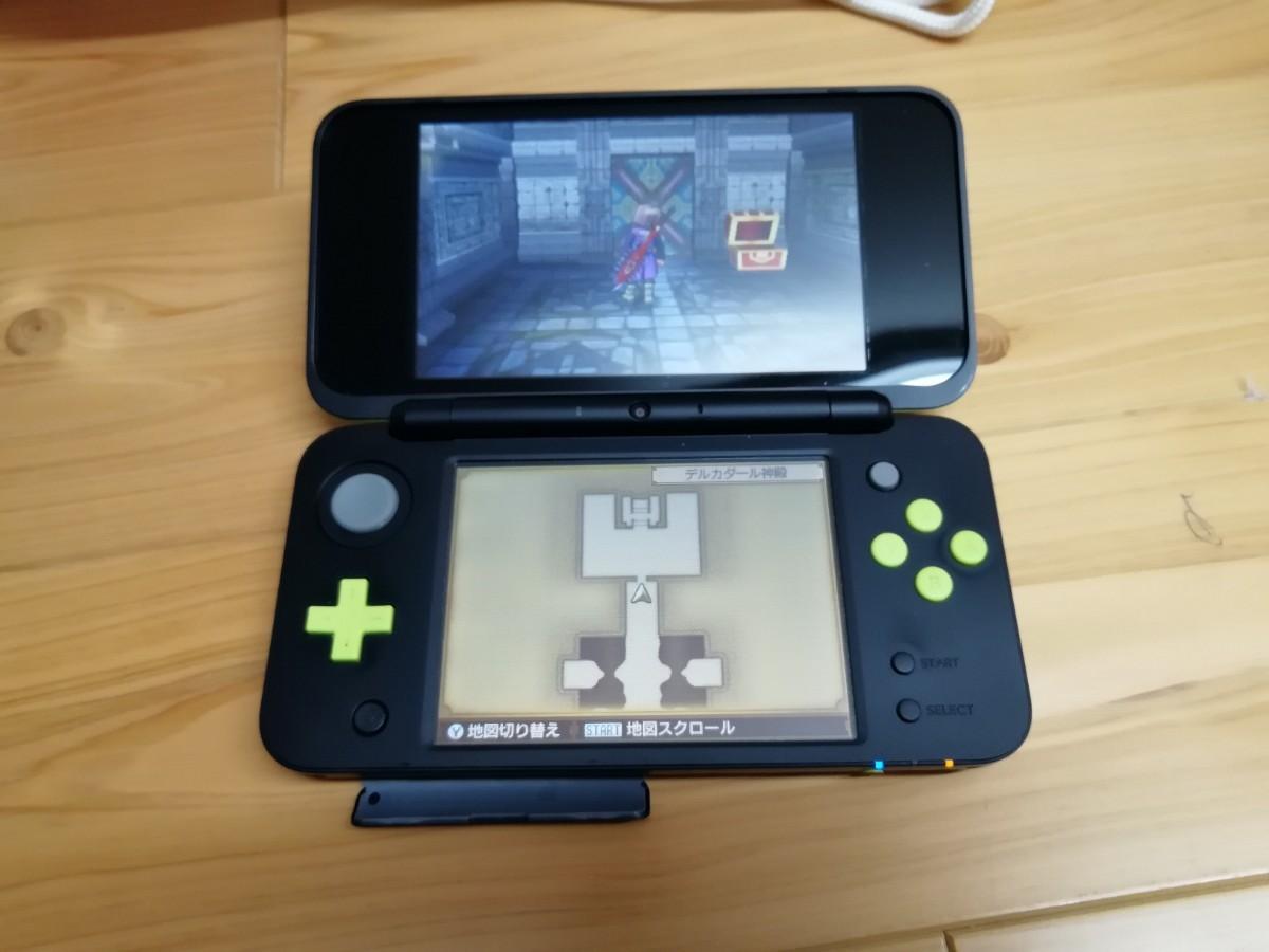 New Nintendo 2DS LL ライム 本体 ニンテンドー 箱付き アダプターおまけ