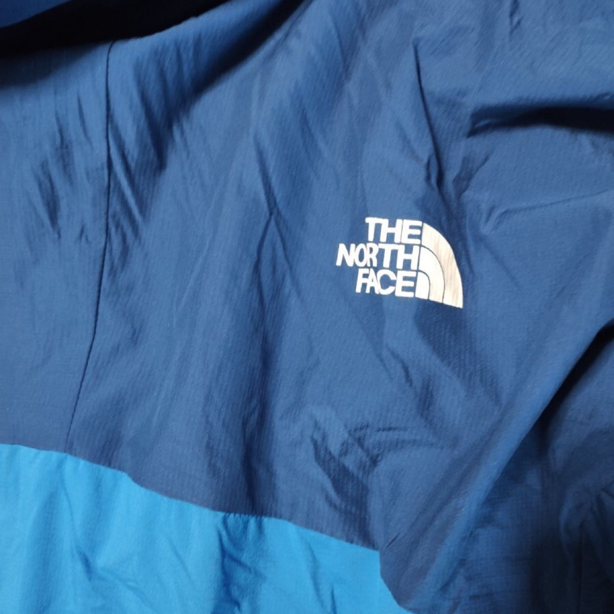 【THE NORTH FACE】ザ・ノース・フェイス ナイロン JKT ブルー