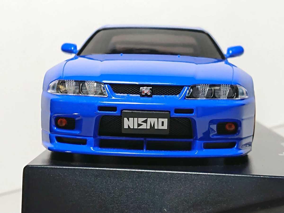 ★☆希少 ミニッツ 日産 スカイライン GT-R NISSAN SKYLINE GT-R NISMO ブルー R33 ニスモ GTR mini-z kyosho 京商★☆
