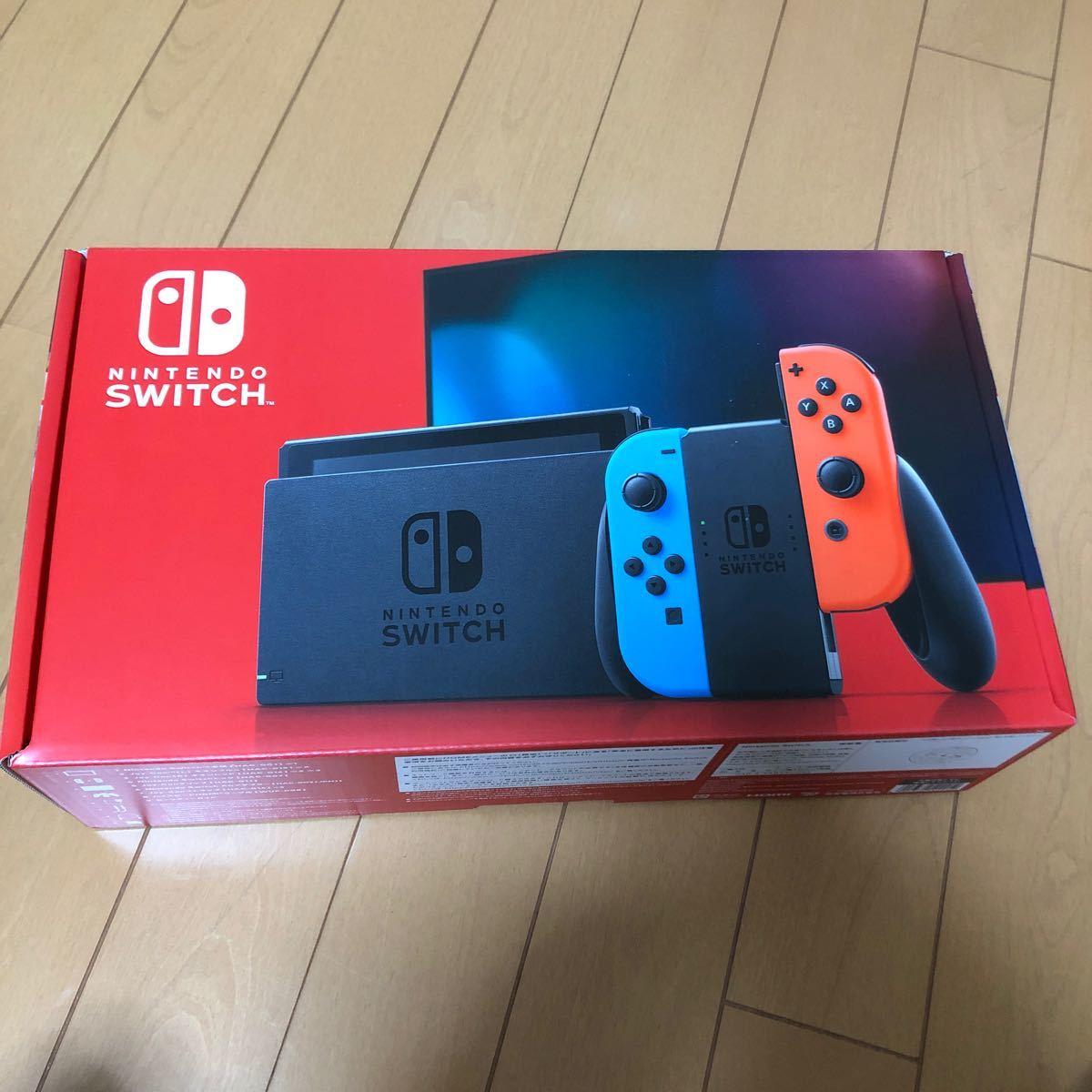 ニンテンドースイッチ本体 Nintendo Switch ネオンブルー ネオンレッド