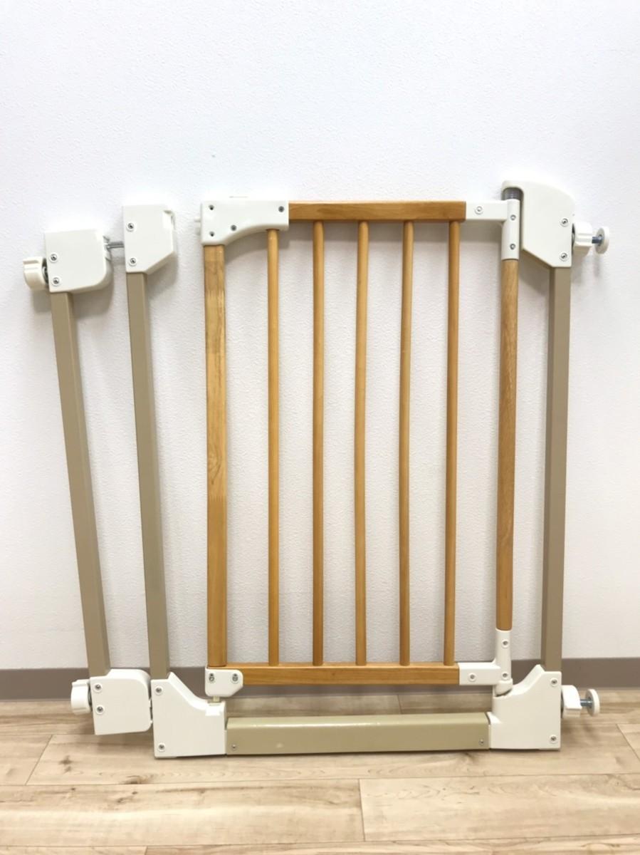 Richell 木のオートロックゲートS ① 安全柵 赤ちゃん ペット ベビーゲート フェンス リッチェル 木製 安全_画像2