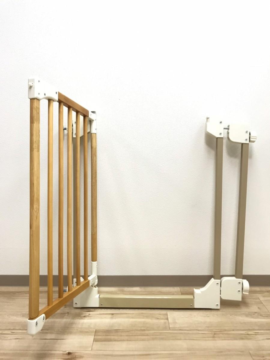 Richell 木のオートロックゲートS ① 安全柵 赤ちゃん ペット ベビーゲート フェンス リッチェル 木製 安全_画像3