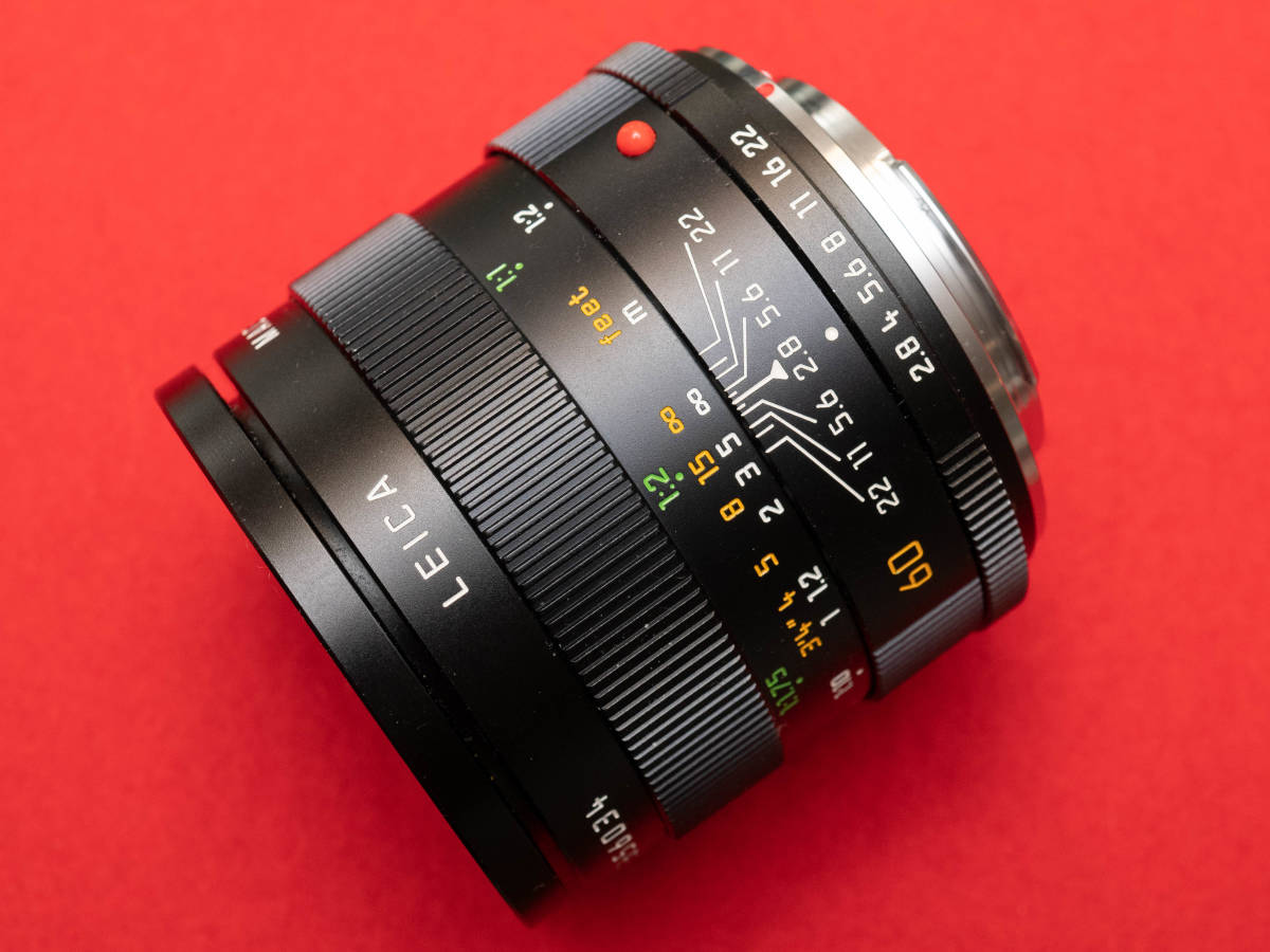 Leica Macro Elmarit-R 60mm f2.8 美品