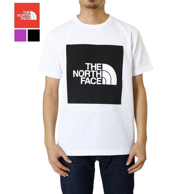 新品ノースフェイス Tシャツ MサイズTHE NORTHFACE NT32043 S/S COL BIG LG TEE ショートスリーブカラードビッグロゴティー 半袖Tシャツ