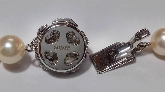 アコヤ真珠 7.0-7.5mm ネックレス 43cm_画像4