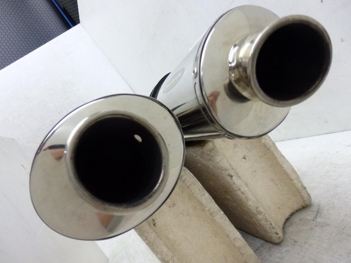 ZZR1400 08-11 デルケビック チタン オーバル スリップオン サイレンサー マフラー 迅速出荷 即決落札で送料無料【U377】_画像7