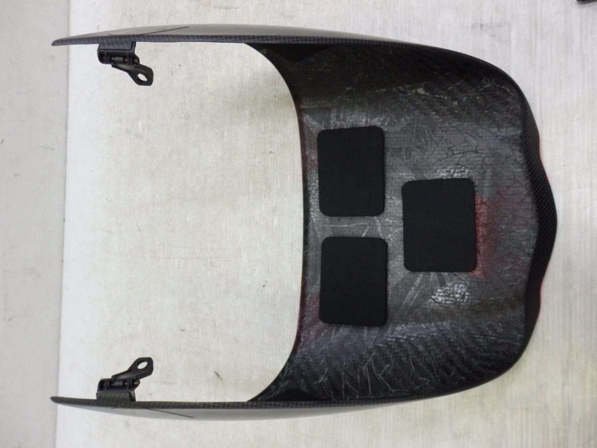 ドゥカティ ディアベル 11-18 純正 オプション シングルシート カウル カバー ドライカーボン 迅速出荷 【U524】_画像10