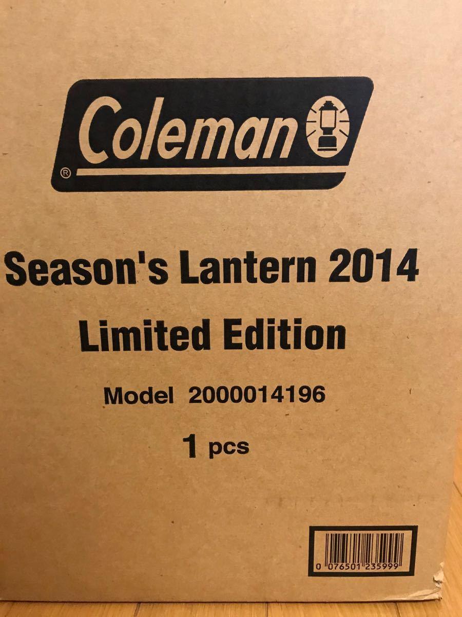 コールマン シーズンズランタン2014『COWBOY』 限定モデル ガソリンランタン  Coleman 未使用品