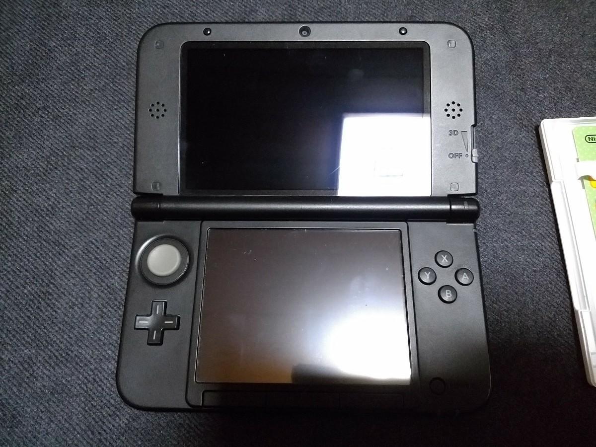 Nintendo 3DS LL 本体 レッド赤 と【3DSソフト】 とびだせ どうぶつの森 [通常版]セット