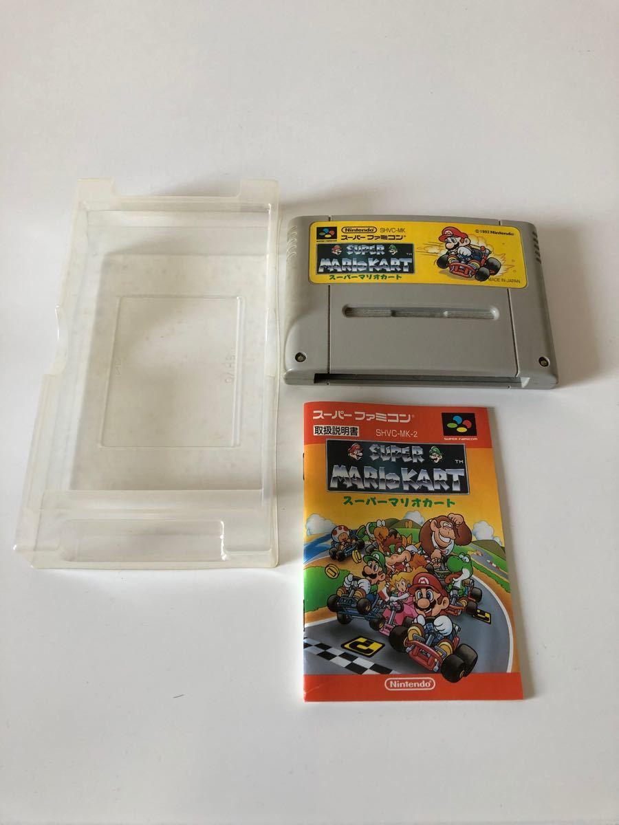 スーパーマリオカート スーパーファミコン SFC 任天堂 Nintendo マリオカート