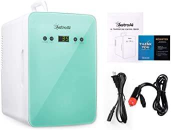 グリーン グリーン AstroAI 冷蔵庫 小型 ミニ冷蔵庫 小型冷蔵庫 冷温庫 2℃~60℃温度調整可能 6L 化粧品 小型で_画像8
