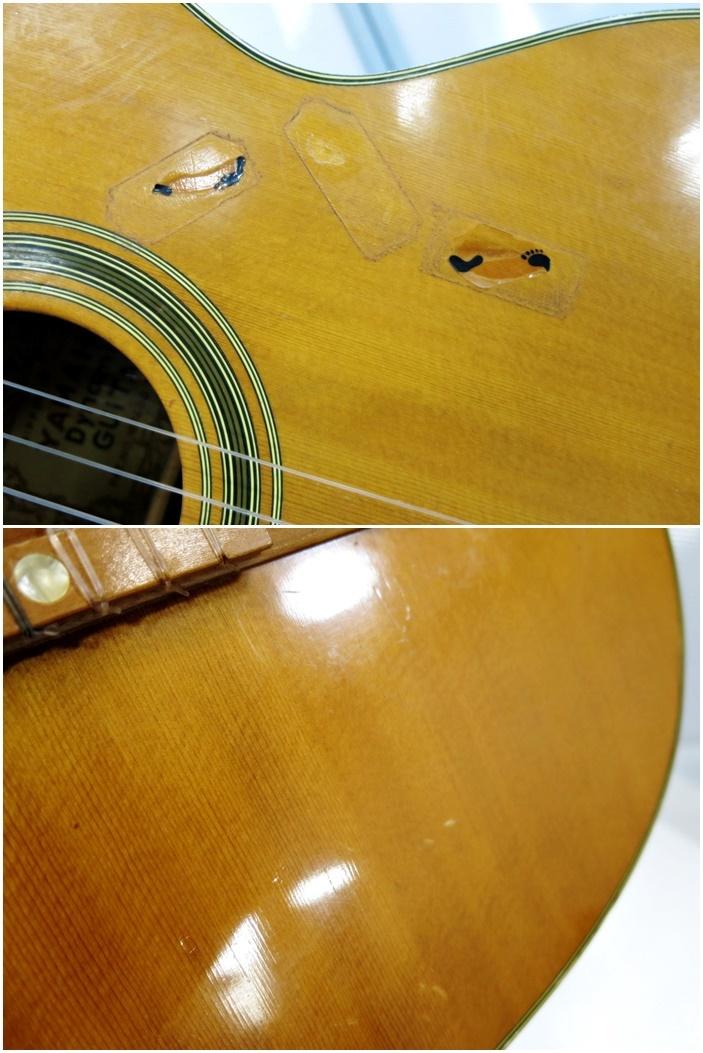 YAMAHA ヤマハ ダイナミックギター 動作良好 Dynamic Guitar S70 クラシックギター 弦楽器 ギター 楽器_画像6