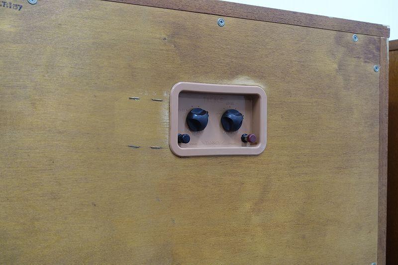 ■□【全国発送可】TANNOY Monitor GOLD Type LSU/HF/15/8 スピーカーペア 英国オリジナル箱 タンノイ□■006631001W-2□■_画像4