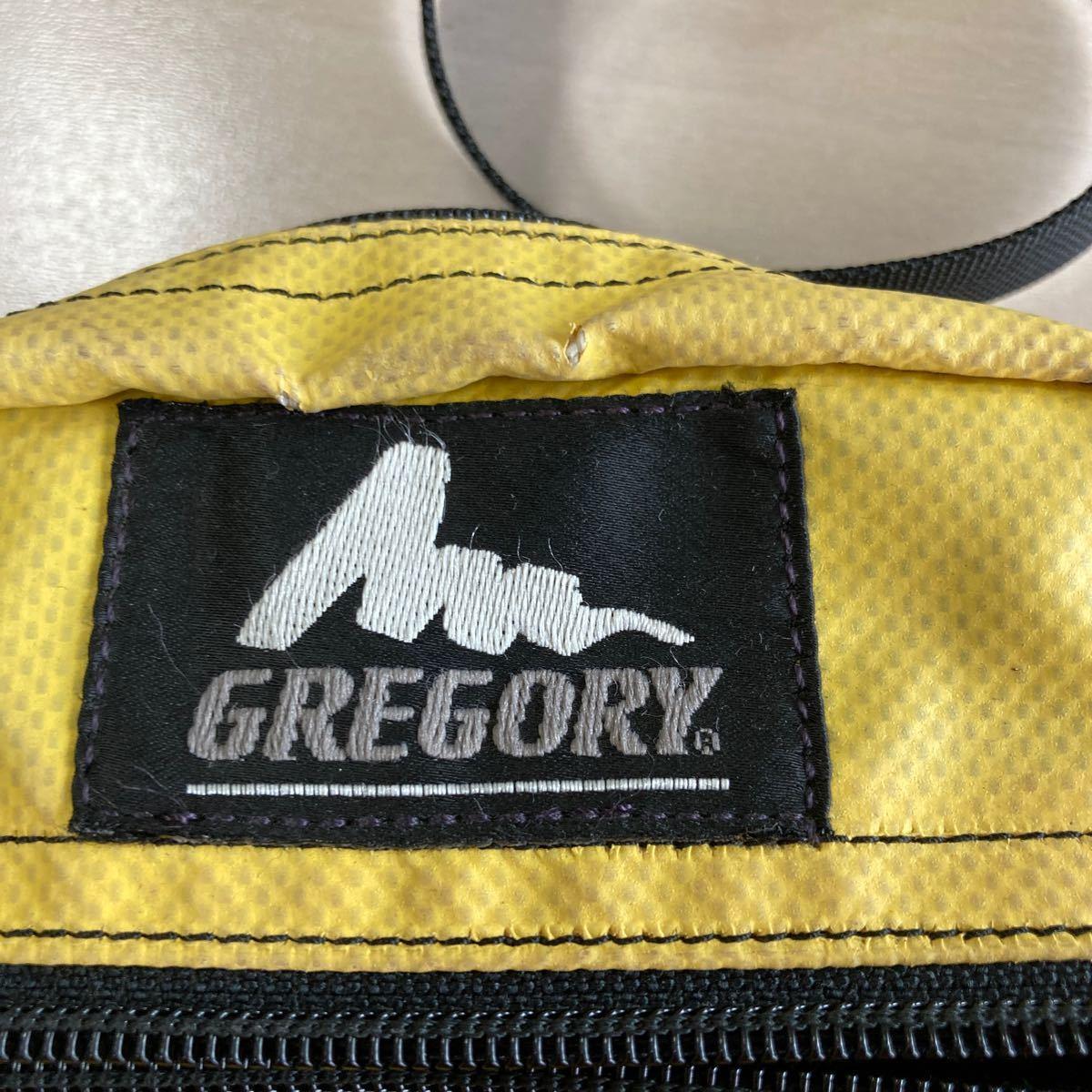 く GREGORY グレゴリーショルダーバッグ 旧ロゴ
