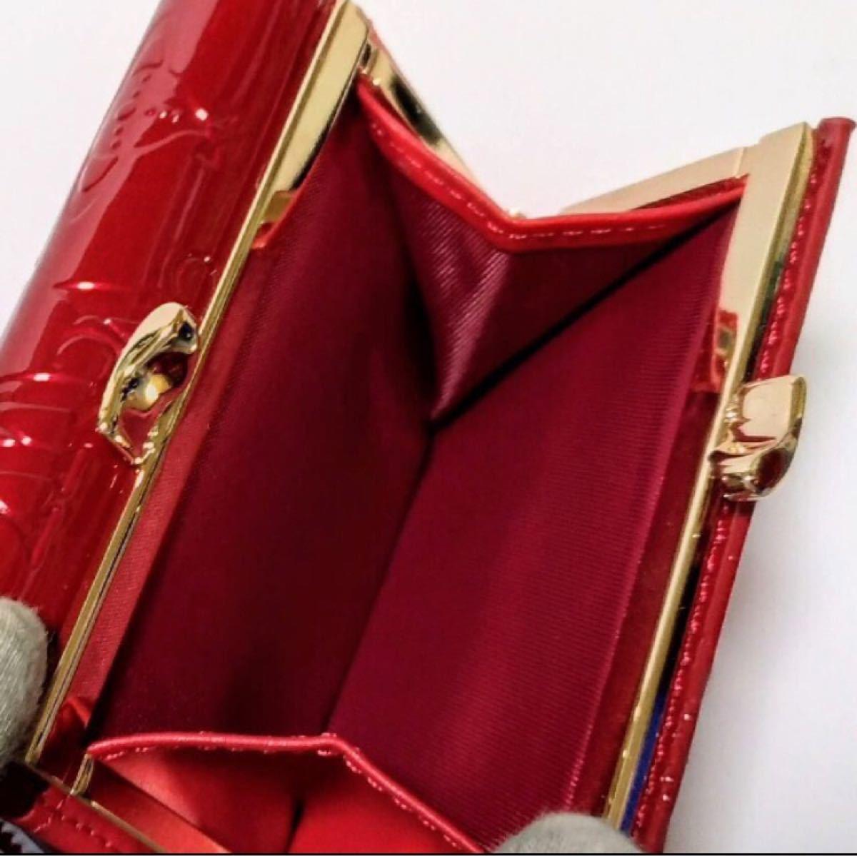 Vivienne Westwood ヴィヴィアンウエストウッド レッド ヴィヴィアンウェストウッド 三つ折り財布 赤