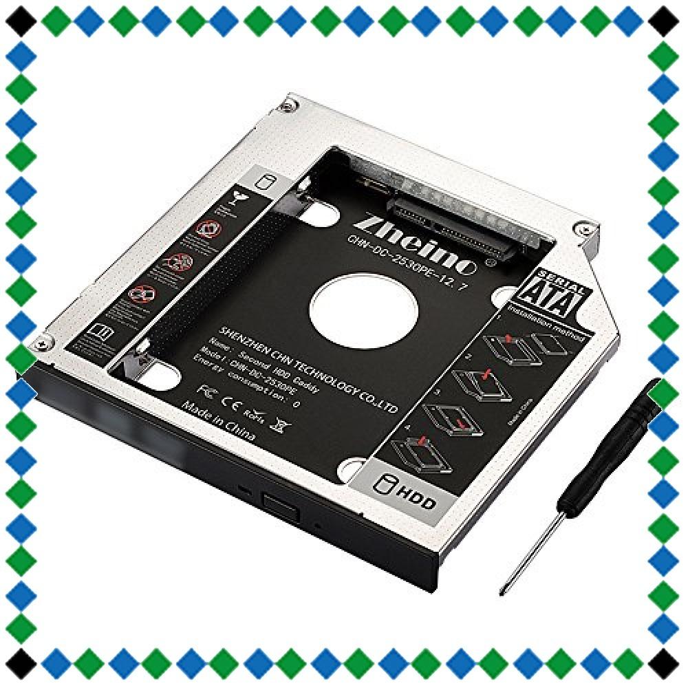 CHN-DC-2530PE-12.7 Zheino 2nd 12.7mmノートPCドライブマウンタ セカンド 光学ドライブベイ用_画像1