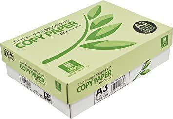 【新品】A3 【セット買い】コピー用紙 A3 コピーペーパー 高白色 紙厚0.09mm 1500枚 (500×38TQ1_画像2