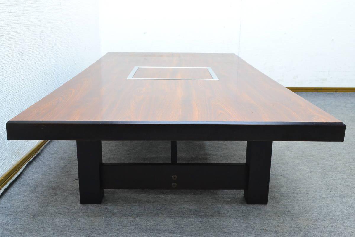 h897■SILKROOM■ロースターテーブル LPガス■外寸 約幅1500×奥行き750×高さ320mm■S-62_画像3