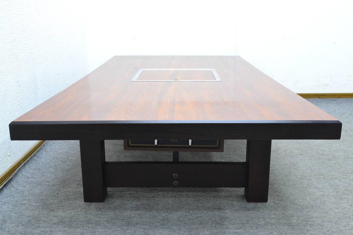 h897■SILKROOM■ロースターテーブル LPガス■外寸 約幅1500×奥行き750×高さ320mm■S-62_画像4