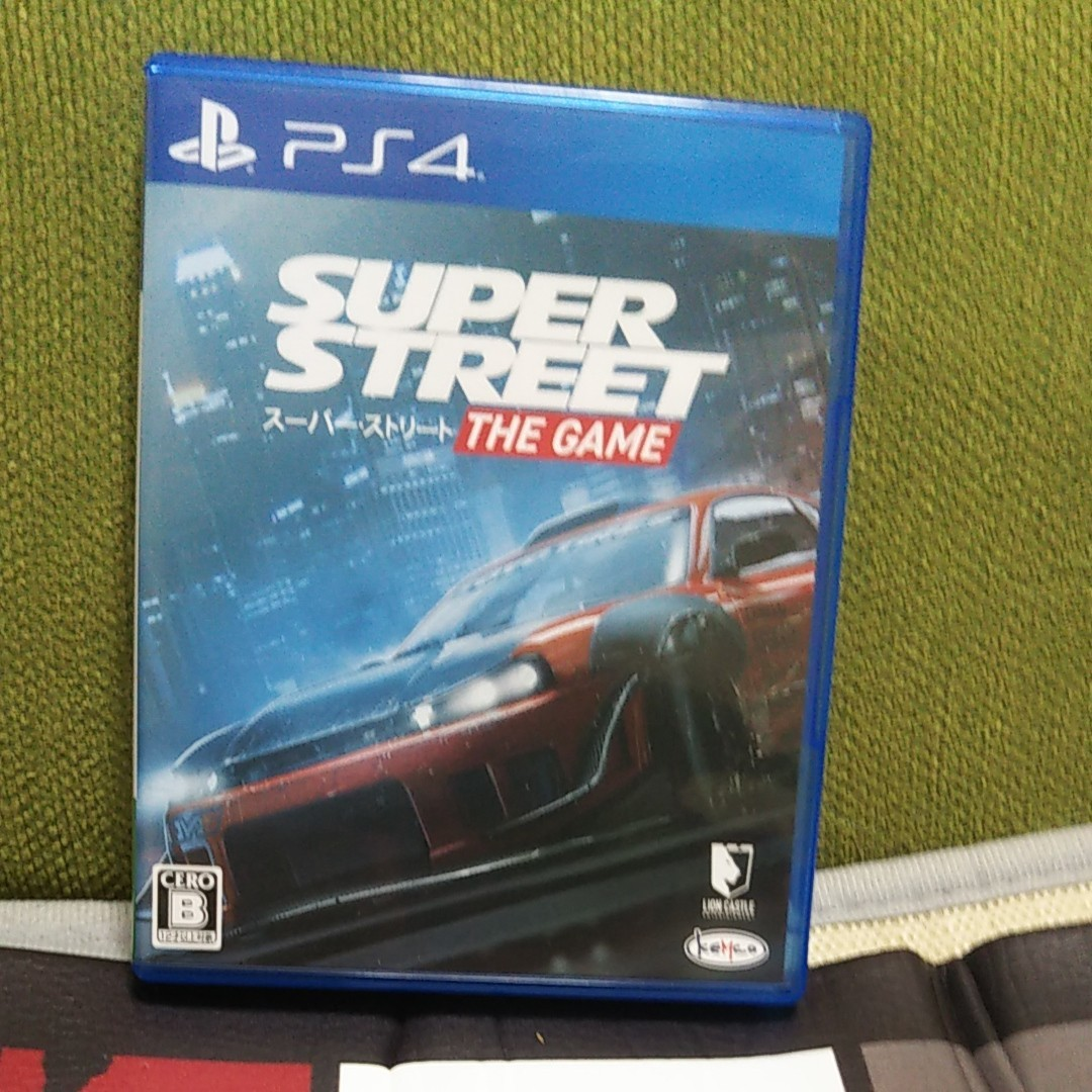 【PS4】 スーパー・ストリート:The Game PS4ソフト
