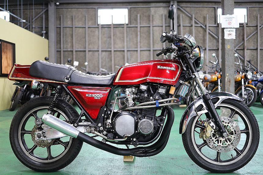 「極上!KZ1000MK2/ワインレッド/FCR33π/モナカ管/スイングアーム/カスタム多数/ブレーキ/ブレンボパーツ一式/コーションラベル付/1979年3月」の画像1