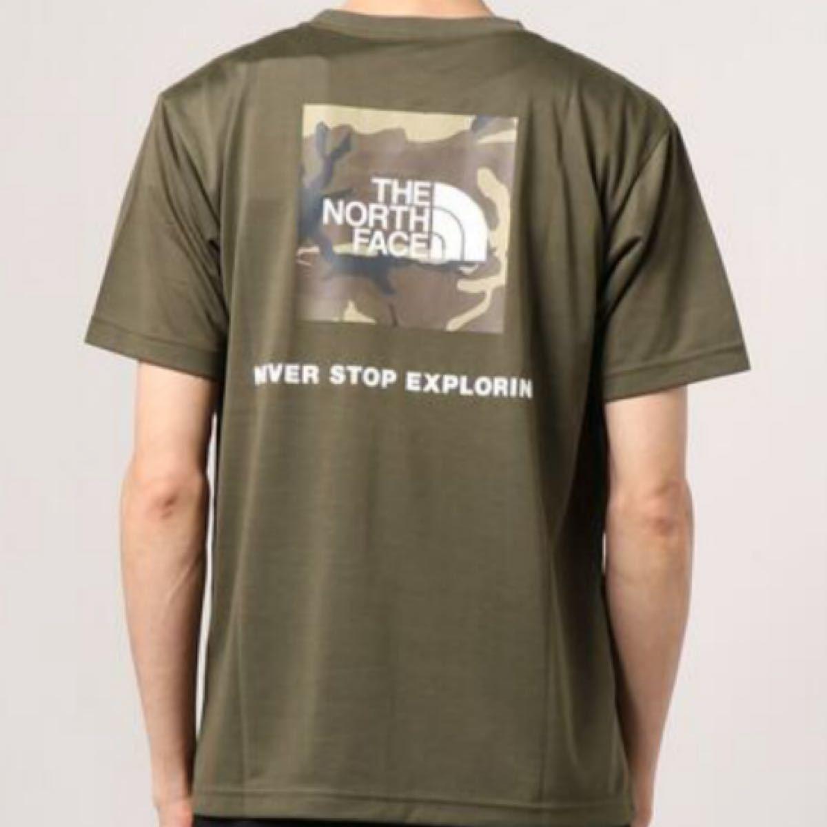 THE NORTH FACE/ノースフェイス ショートスリーブスクエアカモフラージュTシャツ NT32158 新品未使用 タグ付き