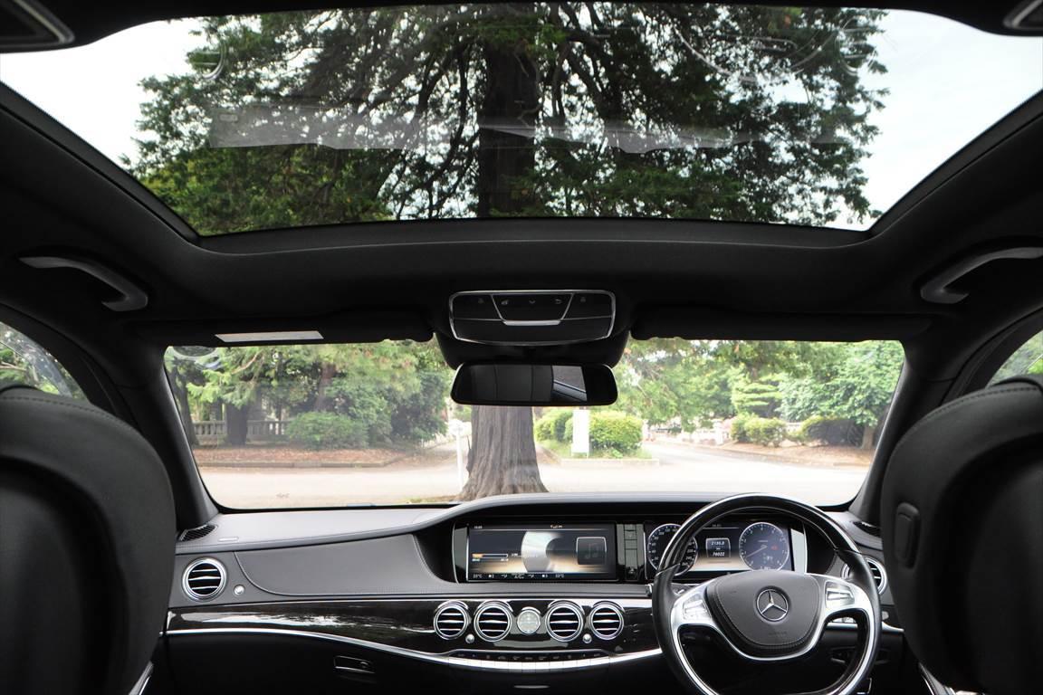 「メルセデスベンツ S550ロング AMGライン レーダーセーフティpkg 2020年版ナビ TV走行視聴OK パーキングアシスト ETC キーx3ヶ 」の画像2