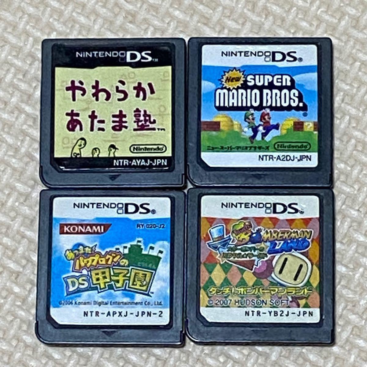 DSソフト NDS  任天堂DS やわらかあたま塾  Newスーパーマリオブラザーズ