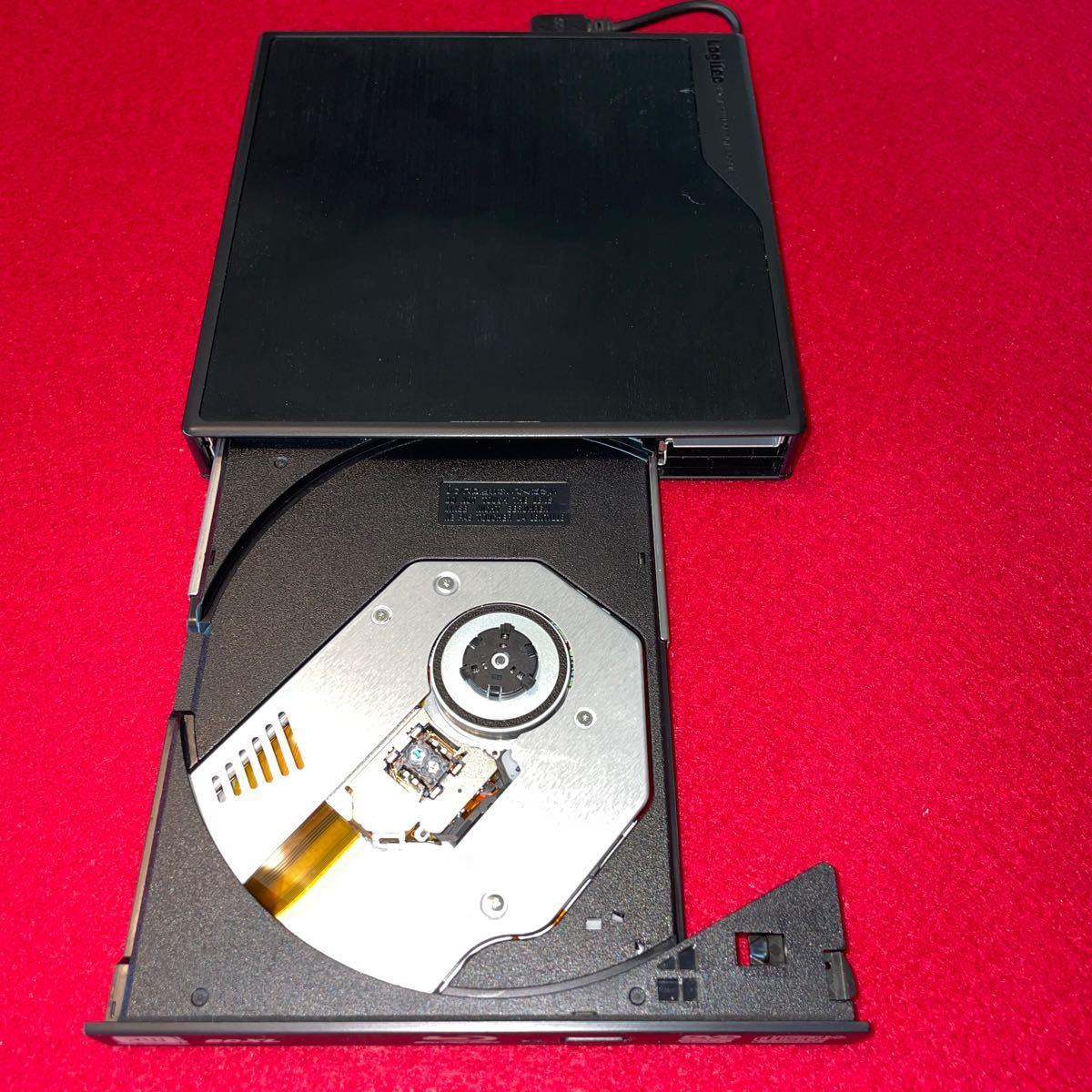 最終値下げ!Logitec 外付けブルーレイドライブ USB3.0