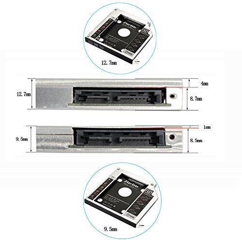 ★2時間セール価格★CHN-DC-2530PE-12.7 Zheino 2nd 12.7mmノートPCドライブマウンタ セカンド_画像6