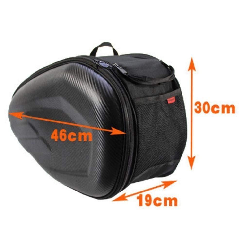追跡可能♪安心♪オートバイテールバッグ 多機能オートバイ リアシートバッグ 大容量オートバイサイドヘルメット ライディングトラベル_画像3