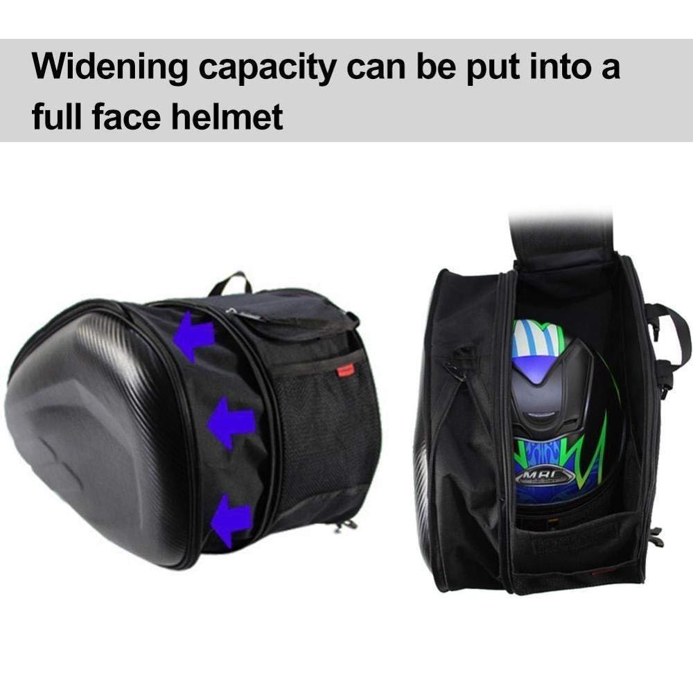 追跡可能♪安心♪オートバイテールバッグ 多機能オートバイ リアシートバッグ 大容量オートバイサイドヘルメット ライディングトラベル_画像2
