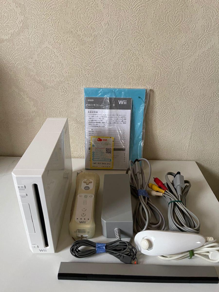 任天堂Wii本体とソフト スーパーマリオブラザーズ Wii