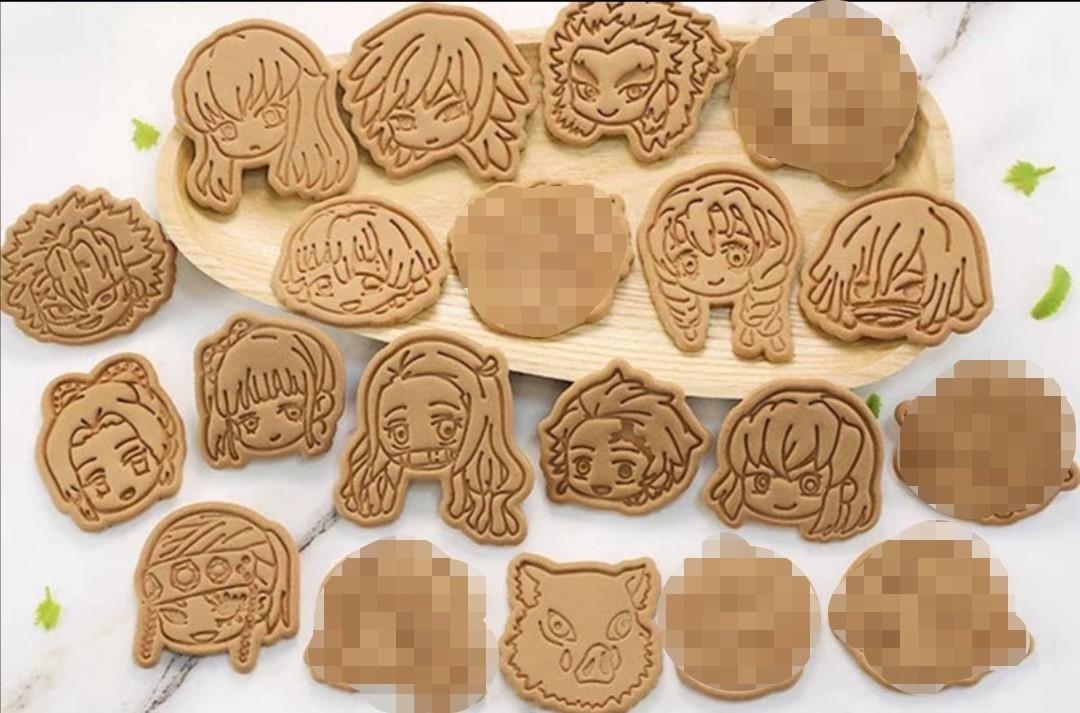鬼滅の刃  クッキー型 鬼滅 型抜き 粘土