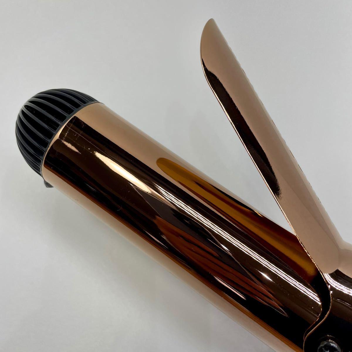 ヘアアイロン カール 未使用 ヴィダル サスーン 38mm マジックシャイン 5段階温度調節 ブラック VSI-3832/KJ