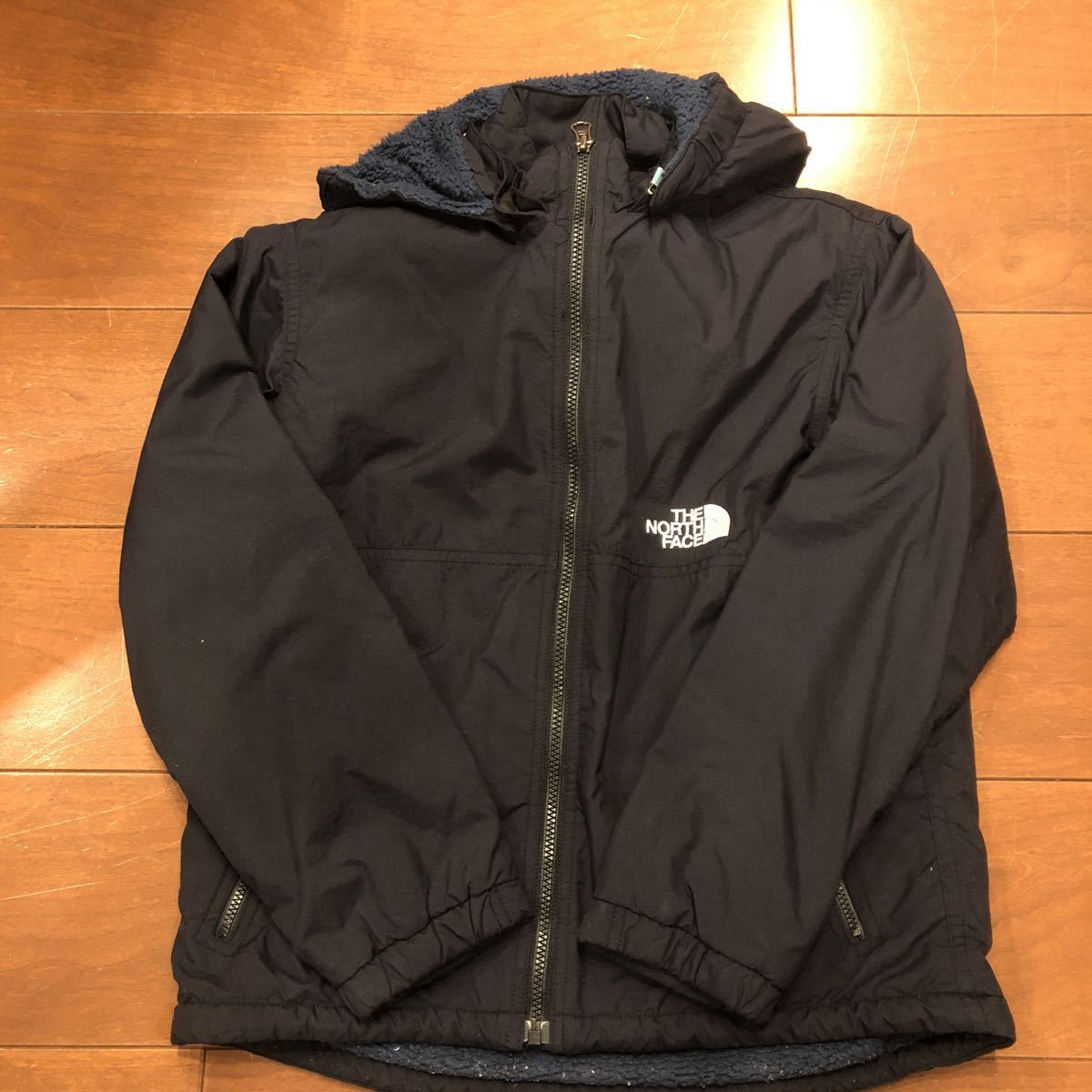 THE NORTH FACE ザ・ノース・フェイス コンパクトノマドジャケット Compact Nomad Jacket キッズ kids 140 black 黒