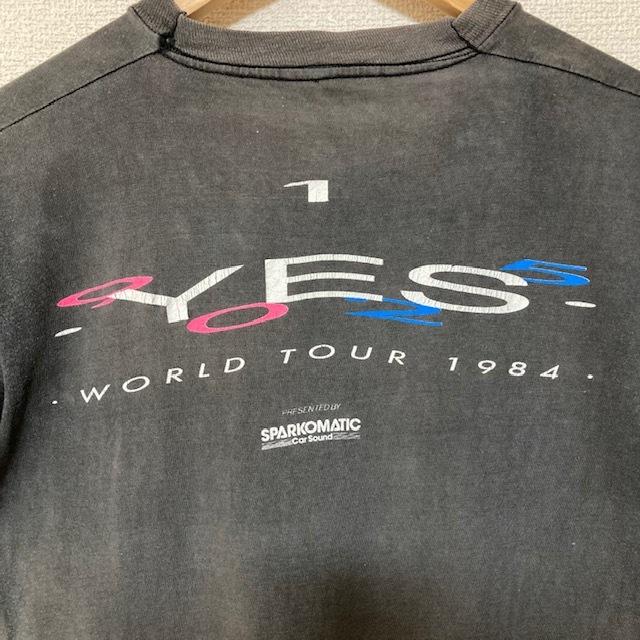 [送料無料] 80s YES ヴィンテージ Tシャツ vintage 古着 バンド ロックTシャツ PINK FLOYD ピンクフロイド ROCK